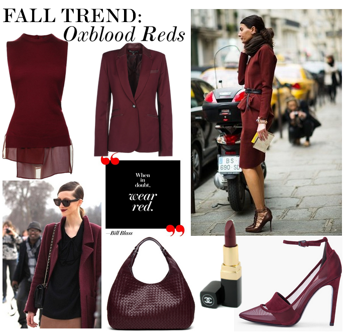 Fall for OXBLOOD