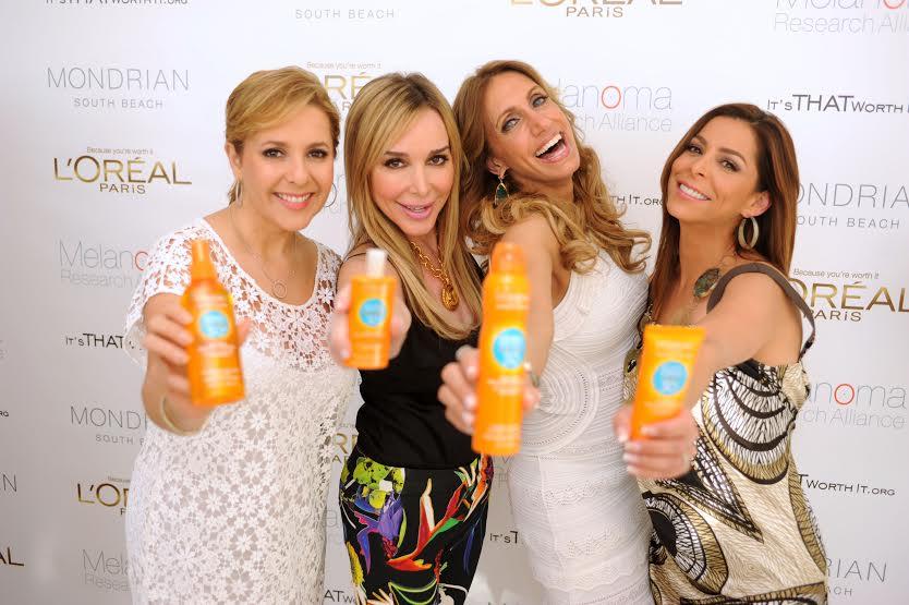 Ana Maria Canseco, Marysol Patton, Lili Estefan and Lourdes Stephen